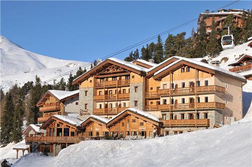 Hotel Carlina Belle Plagne