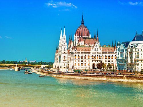Fietsen langs de Donau, van Wenen naar Boedapest