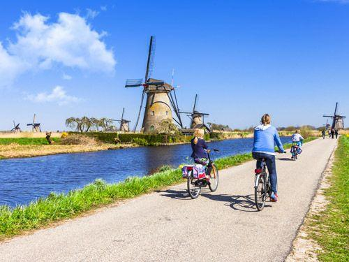 Fietsreis Hart van Nederland - Stad, Strand & Tulpen