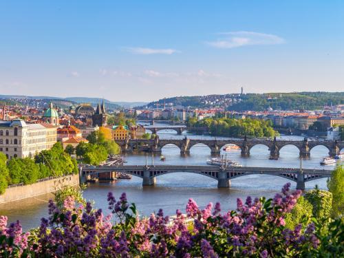 Fietsvakantie van de bron tot Praag