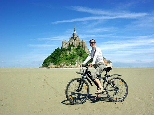 Single Reis door Fietsen in Normandië & Mont St Michel