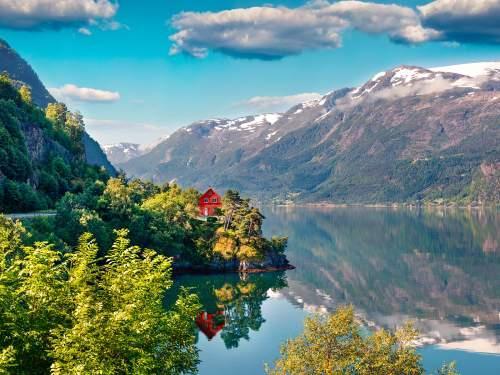 Busreis Fjordtour Noorwegen