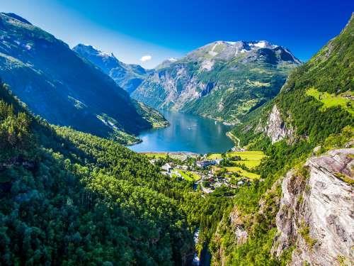 Busreis Hoogtepunten van Noorwegen