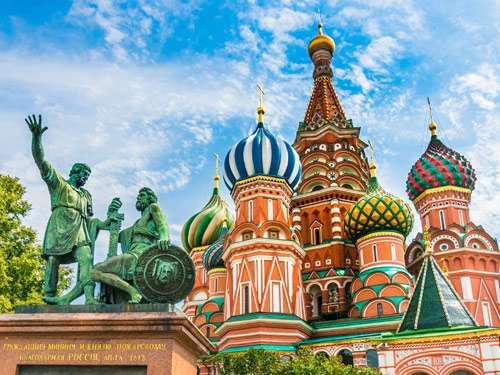 Rondreis door Highlights Moskou & St Petersburg