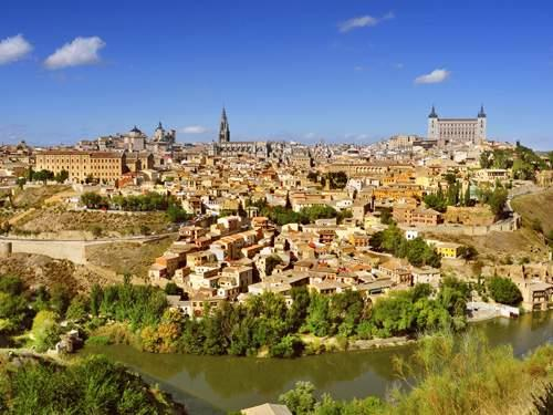 Fly-drive naar Historisch Spanje