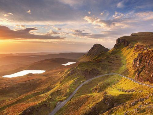 Fly-drive naar Woest Noord Schotland
